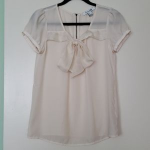 Forever 21 - Sheer Bow Front